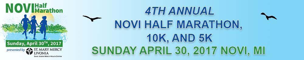 2017 Novi Half Marathon Volunteer Signup
