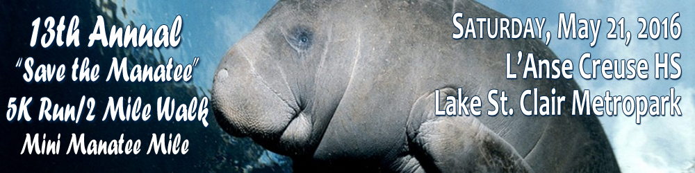 2016 13th Annual Save the Manatee Registration