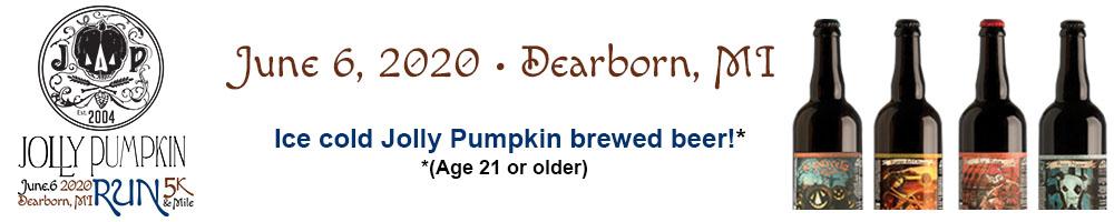 2020 Jolly Pumpkin Run (Dearborn) Volunteer Signup