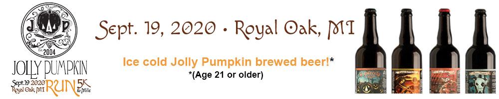 2020 Jolly Pumpkin Run (Royal Oak) Volunteer Signup